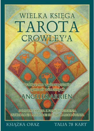 Synergie Zestaw Wielka Księga Tarota Crowleya książka + karty