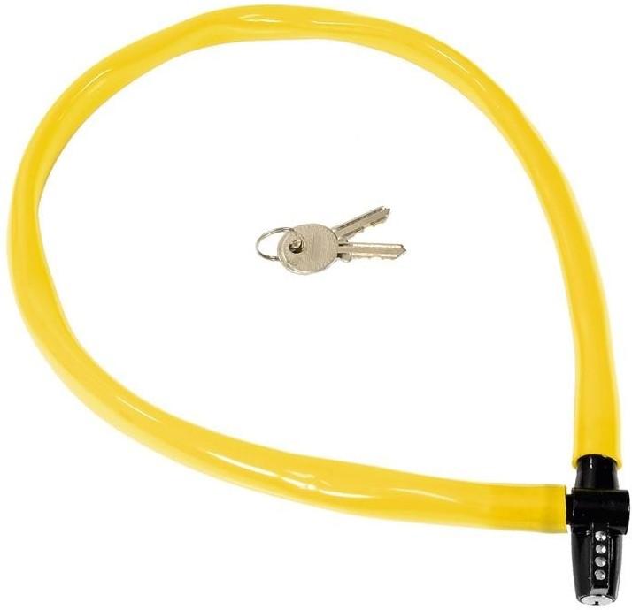 KRYPTONITE Zapięcie, linka Keeper 665 KC 6mm/65cm żółty 720018002468