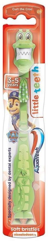 GlaxoSmithKline Little Teeth szczoteczka do zębów dla dzieci 3-5 lat Soft Psi Patrol