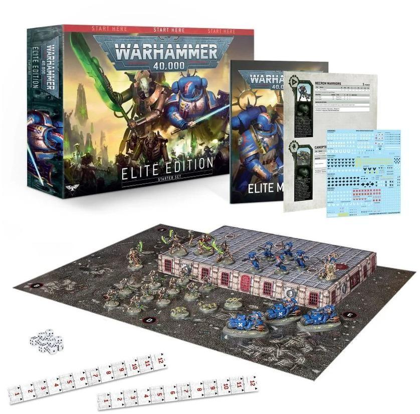 Games Workshop Warhammer 40000 Elite Edition (angielski) (60010199031) 40-03