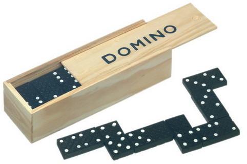 EUROBATT Drewniane Domino 28 elementów