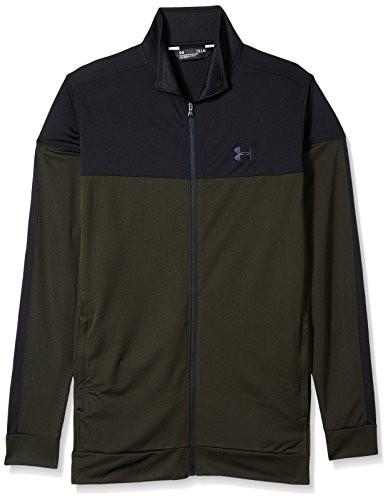 Under Armour Men's Sport Style Pique Jacket, artillery Green/Black, 4 X-Large Tall 1313204