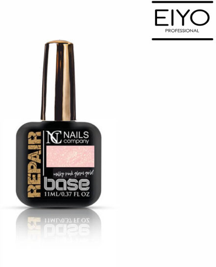 NAILS COMPANY REPAIR BASE Milky Pink Glam Gold Nails Company - 11 ml