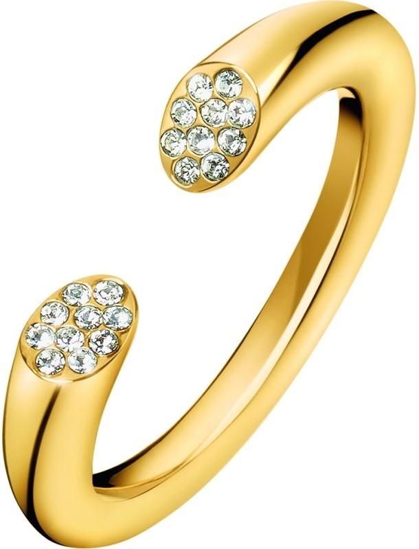 Calvin Klein ring Brill po YLW WHT CRYS PVD, kj8yjr140107 KJ8YJR140107