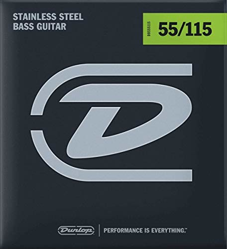 Dunlop Jim DL STR DBS 055/115 DBS Bass Steel zestaw 38440551501