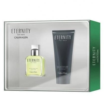 Calvin Klein Eternity Men EDT 30ml + 100ml SG 63414-uniw