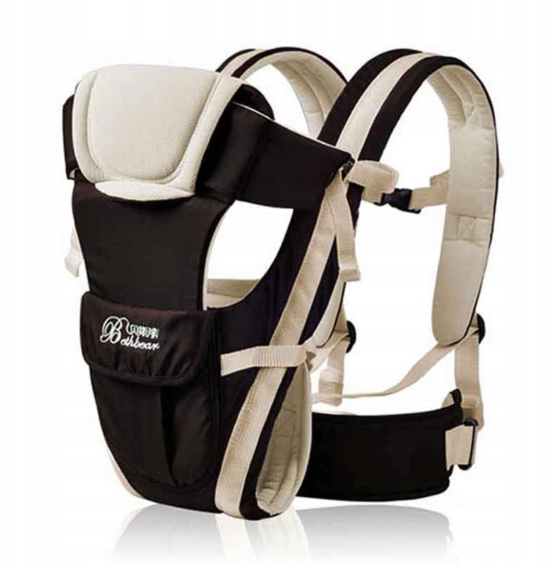 Nosidełko Dla Dzieci - 4W1 - (0-30MSC) - Beżowe