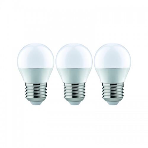 Paulmann LED op. 3szt. kropla 5,5W E27 230V 2700K 28579