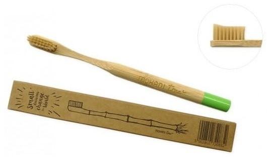 MOHANI MOHANI Bambusowa zielona szczoteczka do zębów Soft 83036-uniw