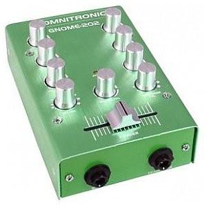 Omnitronic GNOME-202 Mini mixer green 10006884