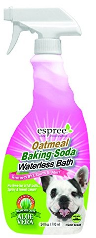 Espree Natural Oatmeal baking Soda Waterless Bath 24 FL OZ-Clean Scent NOBWB