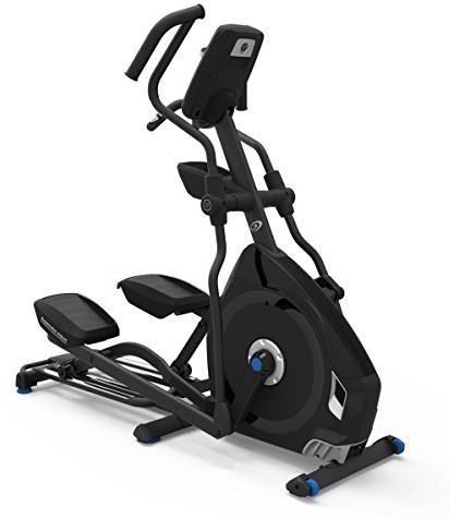 Nautilus E628 Ellipse Trainer, czarny/niebieski, One Size 100498