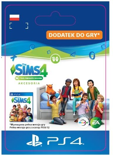 The Sims 4 Pokój Dzieciaków DLC (GRA PS4) wersja cyfrowa