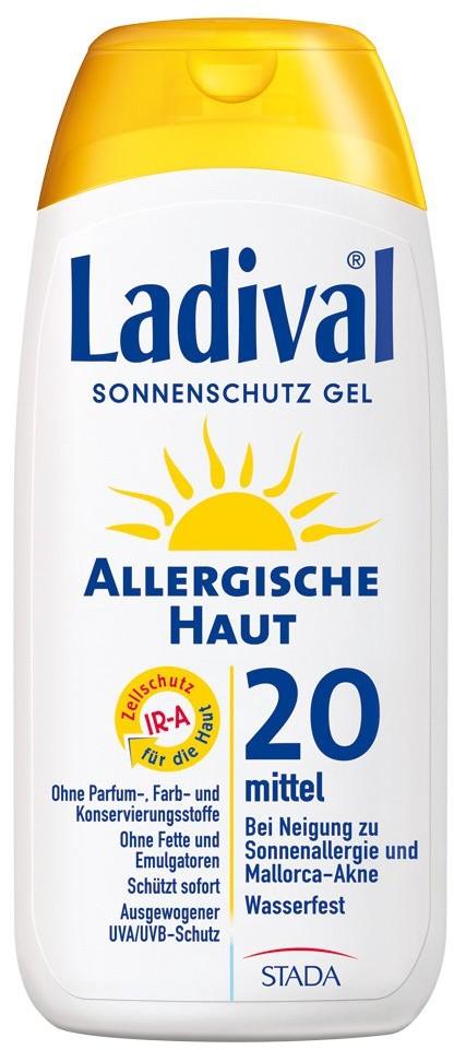 Ladival STADAvita GmbH żel do skóry alergcznej z filtrem SPF20 200 ml