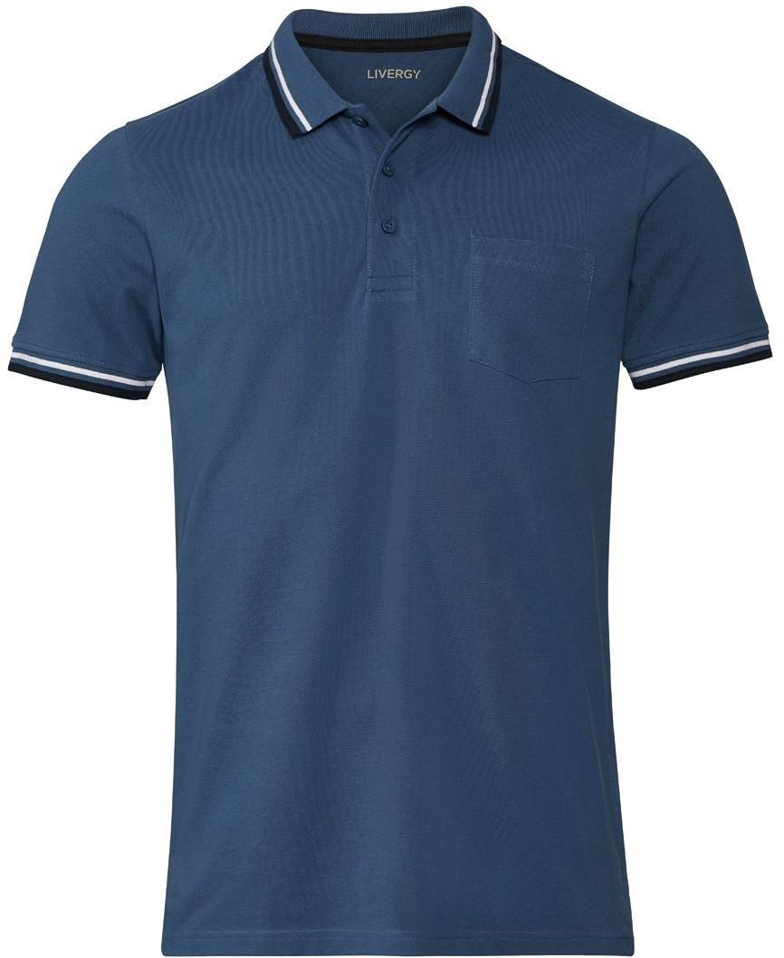 LIVERGY LIVERGY Koszulka męska polo, slim fit, 1 sztuka 4056233196696