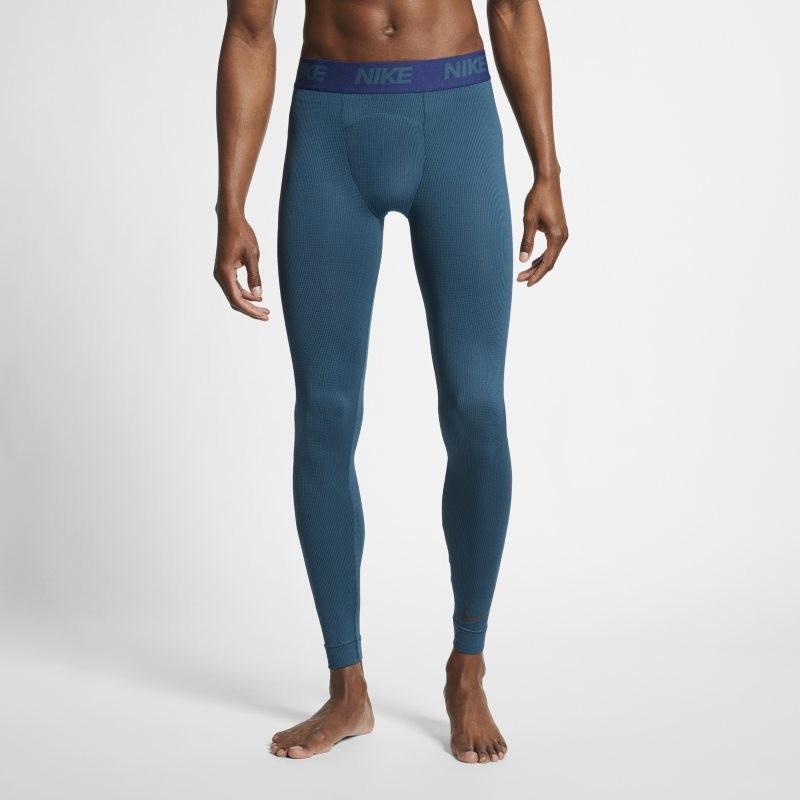 Nike Męskie legginsy treningowe Niebieski AJ8881-304