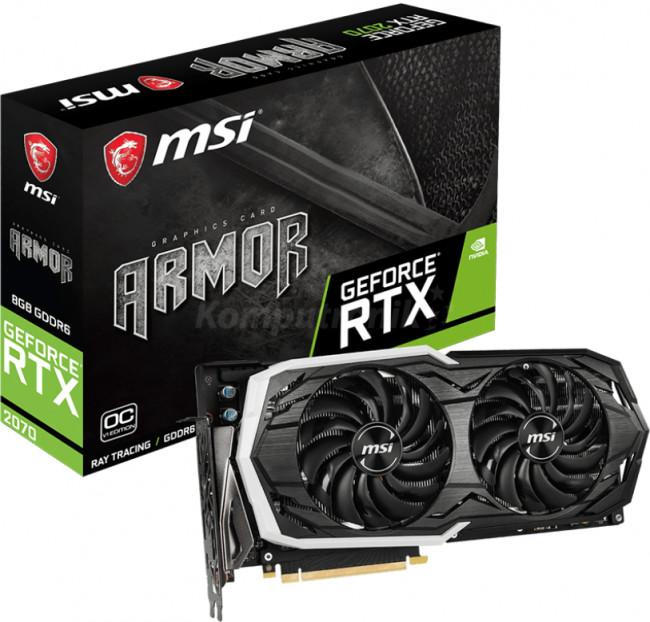 MSI GeForce RTX 2070 ARMOR 8G OC 8G
