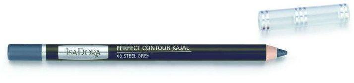 IsaDora Perfect Contour Kajal konturówka do powiek 68 Steel Grey 1,2g - 68 Steel Grey