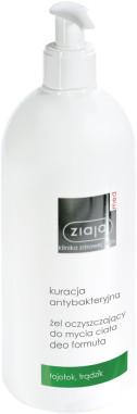Ziaja LTD. Z.P.L. SP. Z 0.0. Med Kuracja antybakteryjna Żel oczyszczający do mycia ciała deo formuła 400 ml 7070106