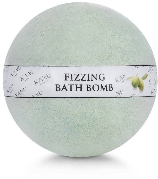 Kanu NATURE NATURE Fizzing Bath Bomb Oliwka 160g NATURE Fizzing Bath Bomb Oliwka 160g