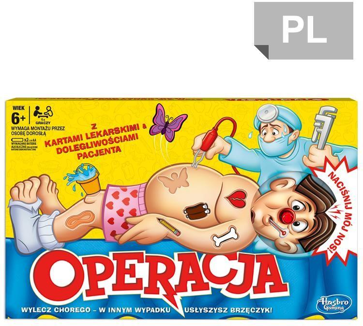 Hasbro Gra Operacja B2176