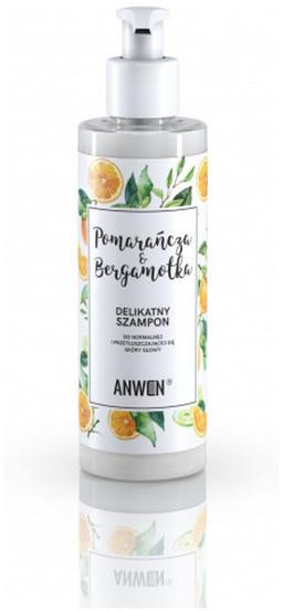 Anwen Anwen Szampon Pomarańcza i Bergamotka do normalnej przetłuszczającej się skóry głowy 200ml