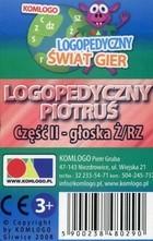 Komlogo Komlogo, karty Logopedyczny Piotruś Część II: głoska Ż/RZ
