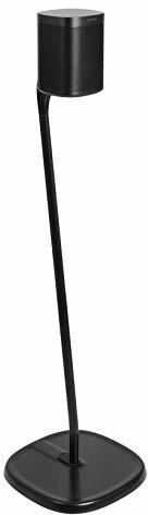 Sonos GT STUDIO Standfuß für One, One SL, Play:1, Play:3, Premium Design verbessert den Surround-Sound, komplett verdecktes Kabel, Schwerer Sockel - (Einzeln, Schwarz)