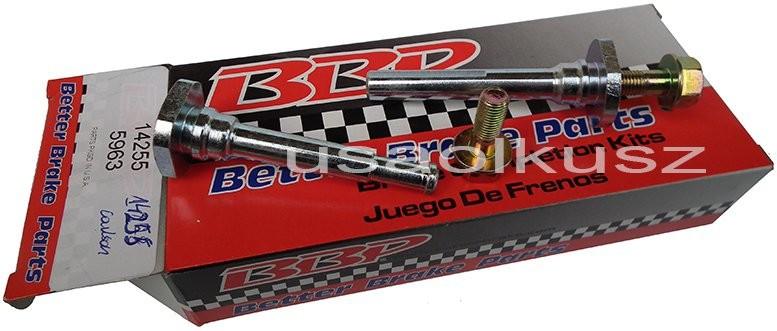 BetterBrakeParts Prowadnice tylnego zacisku hamulcowego Dodge Grand Caravan 2012 14255