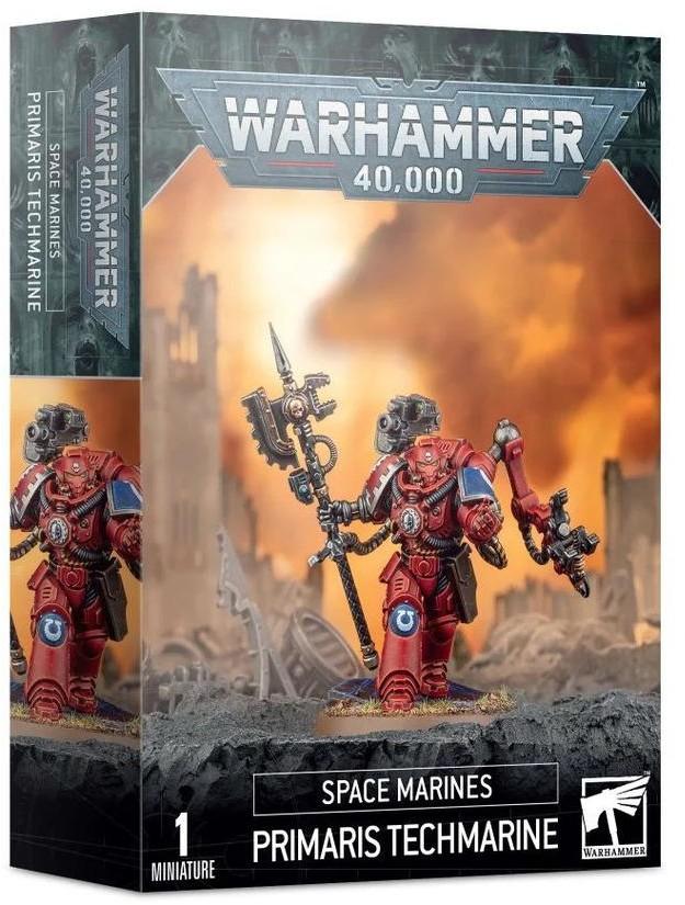 Games Workshop Space Marines Primaris Techmarine (99120101278) 48-39