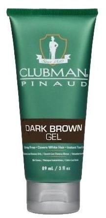 CLUBMAN PINAUD Gel Dark Brown żel koloryzujący włosy ciemnobrązowy 89 ml Clubman Pinaud CLU000023