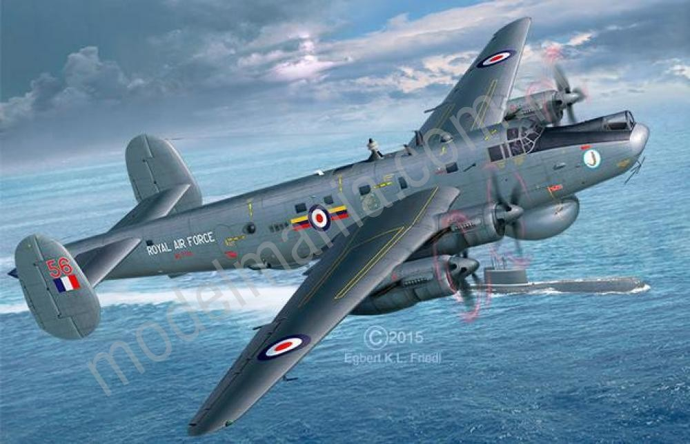 Revell Morski samolot rozpoznawczy Avro Shackleton Mk.2 04920