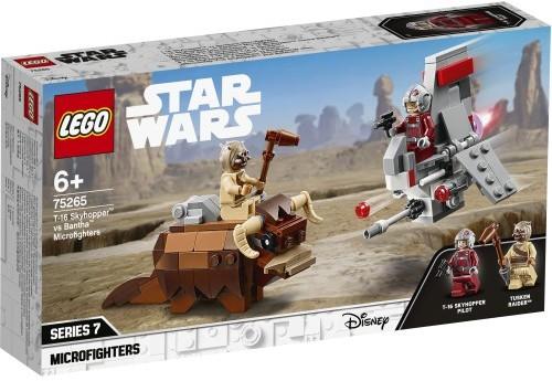 LEGO Star Wars Mikromyśliwiec Y-Wing Ruchu 75263