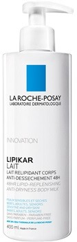 La Roche-Posay Lipikar mleczko do ciała uzupełniający lipidy do suchej skóry 400 ml