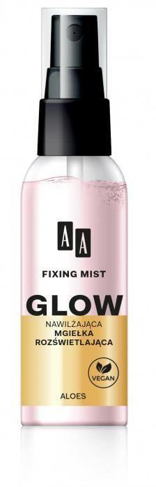 Oceanic Fixing Mist Glow nawilżająca mgiełka rozświetlająca Aloes 50ml 88345-uniw