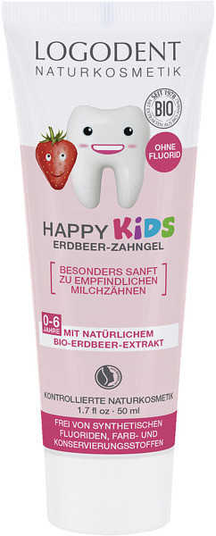 Logona HAPPY KIDS Żel do zębów dla dzieci z bio-truskawką 173 2520