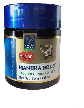 Manuka Health New Zealand Limited Miód Manuka MGO 100+ Nektarowy 50 g MM10050
