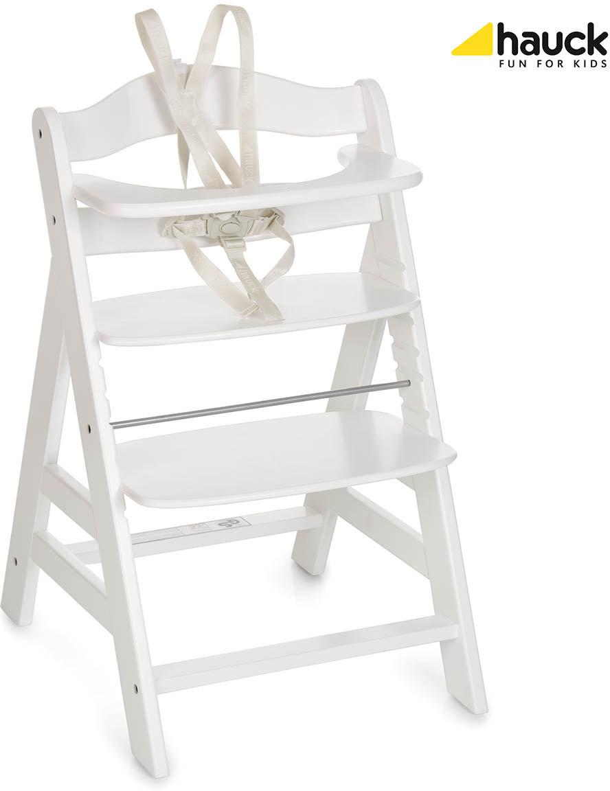 Hauck Alpha+, Krzesełko do karmienia, White