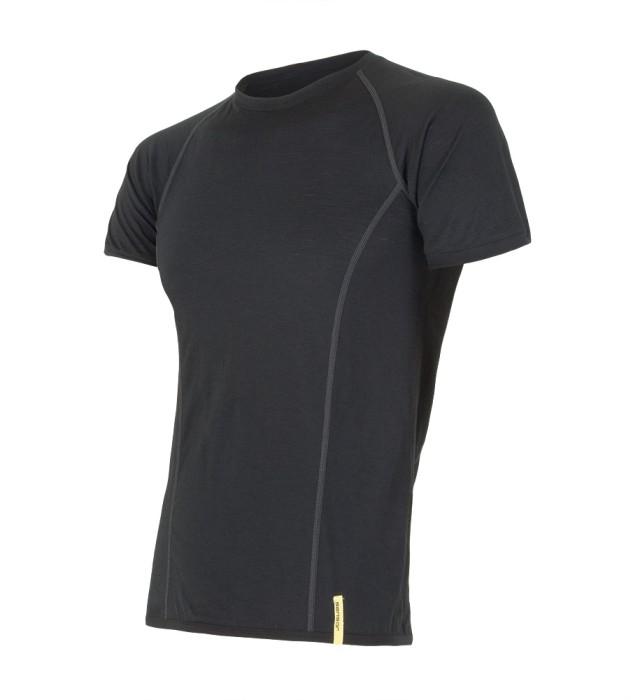 Sensor koszulka termoaktywna Merino Wool Active M black S