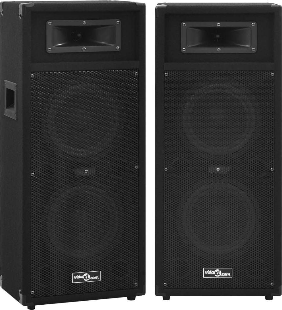 vidaXL Profesjonalne sceniczne głośniki pasywne HiFi 2 szt. 1000 W