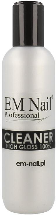 Em Nail Professional Em Nail Professional Cleaner High Gloss 100% Odtłuszczacz Do Paznokci Zapewniający Wysoki Połysk 100ml