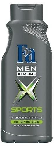 Fa Men Xtreme Sports Shower Gel żel pod prysznic do mycia ciała i włosów dla mężczyzn 400ml