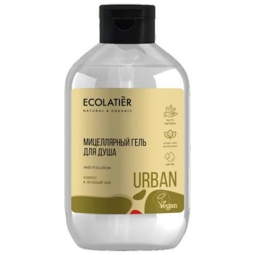 Urban Micelarny Żel Pod Prysznic Kaktus I Zielona Herbata 600 Ml Ecolatier Urban