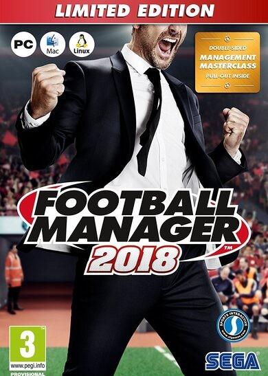 SEGA Football Manager 2018 Edycja Limitowana STEAM