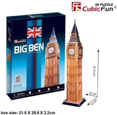 Cubicfun 3D ZEGAR BIG BEN C094H