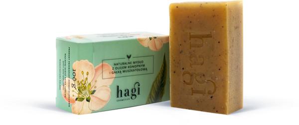 Hagi Cosmetics Hagi naturalne mydło z olejem konopnym 100 g