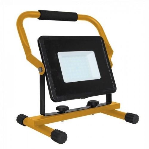 V-TAC Halogen Reflektor Naświetlacz 50W V-TAC LED na statywie z kablem VT-4250