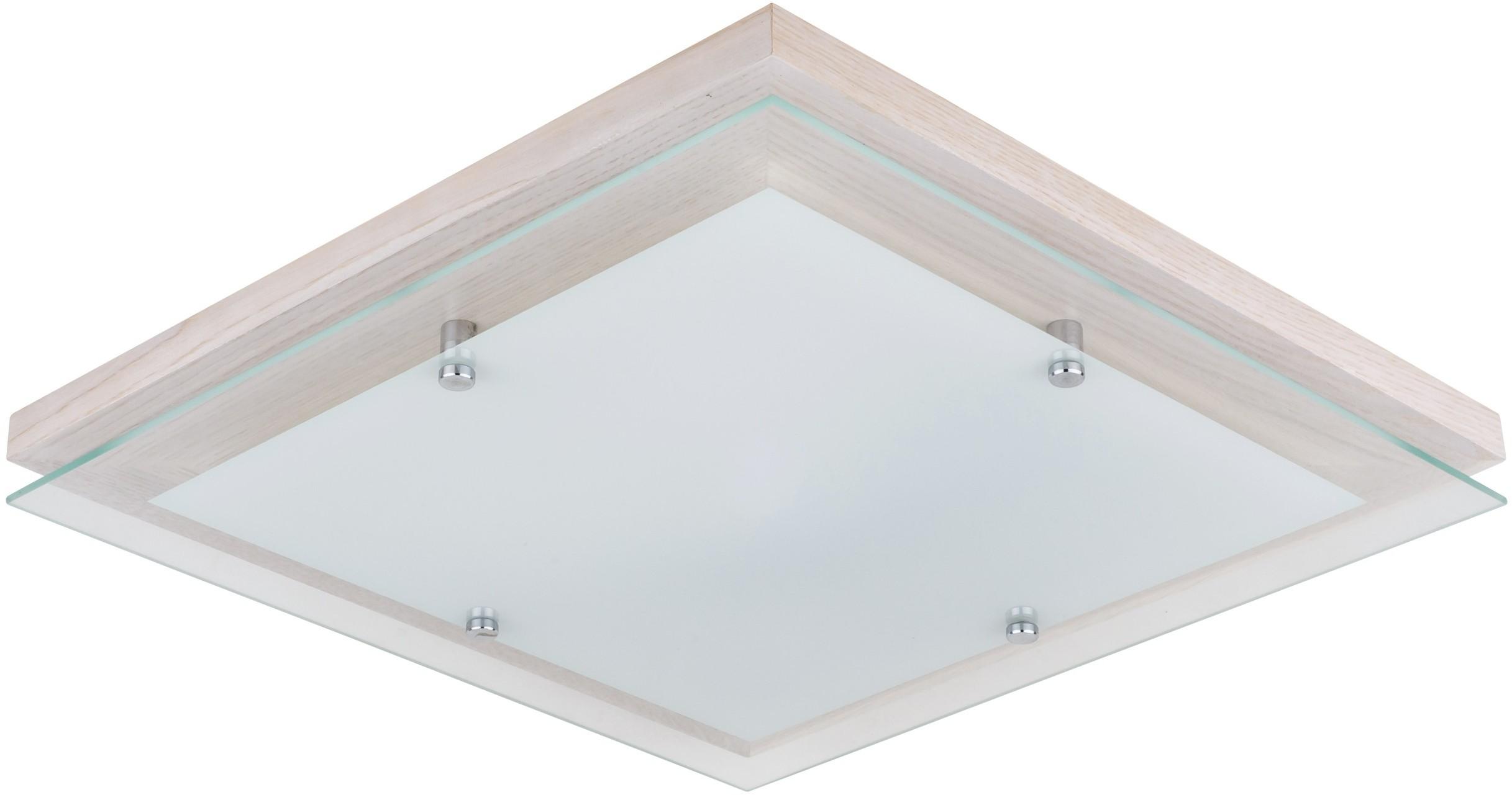 Spotlight FINN plafon LED 24W z funkcją ściemniania dąb bielony 4124032