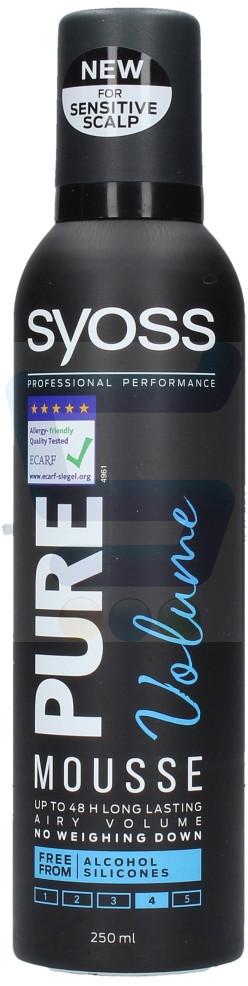Syoss Pure Volume Pianka do włosów 250 ml