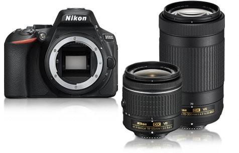 Nikon D5600 + AF-P 18-55 VR + AF-P 70-300 VR (VBA500K004)